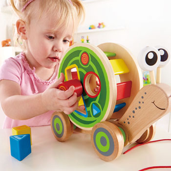 Pull and Play Shape Sorte